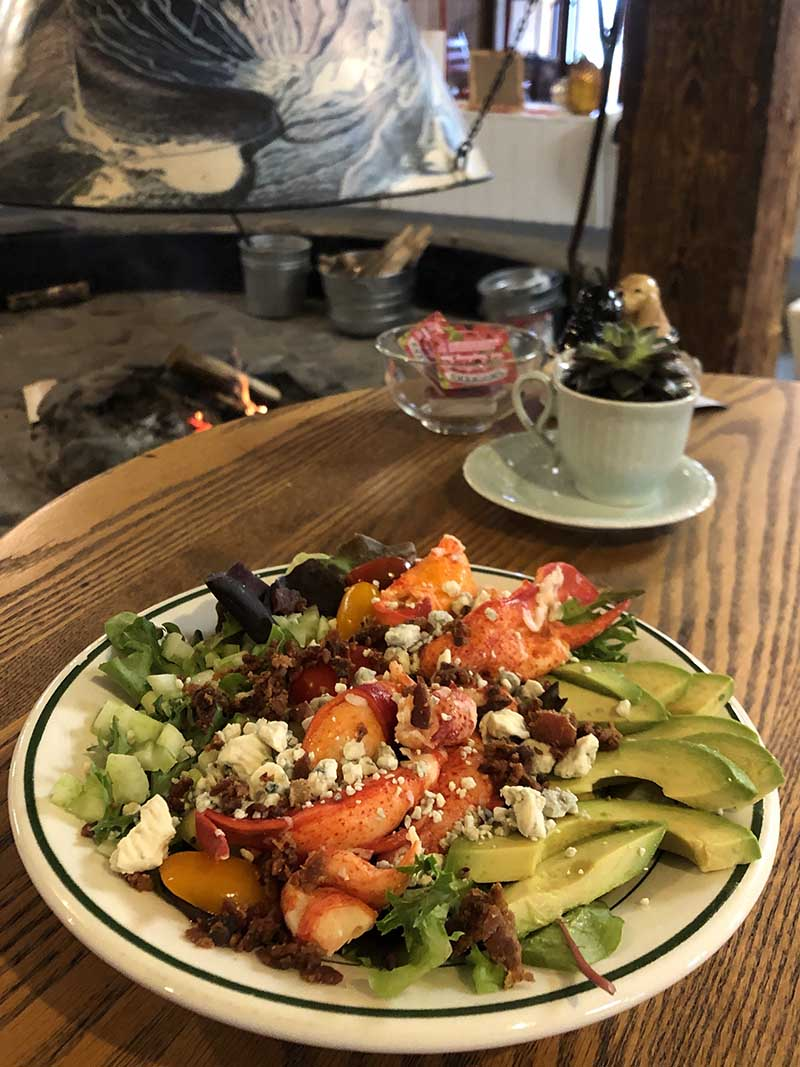 The Round Hearth Cafe Salads