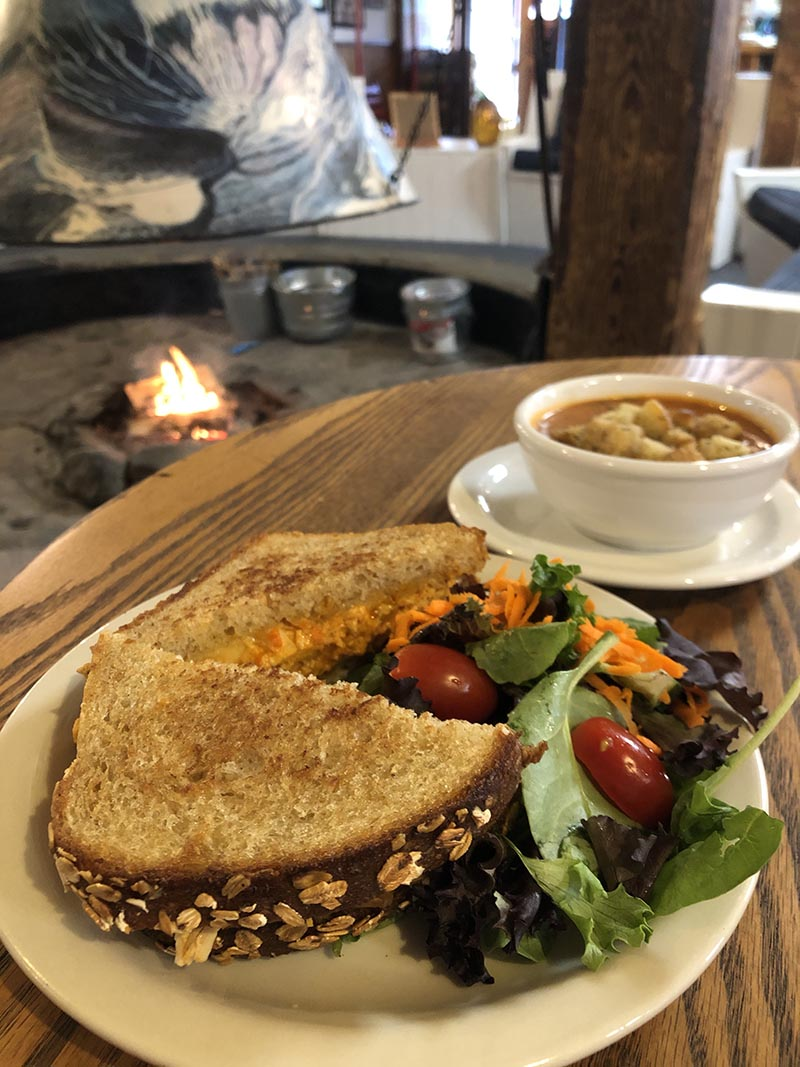 The Round Hearth Cafe Sandwiches